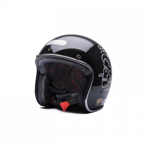 Capacete Urban The Judge Preto