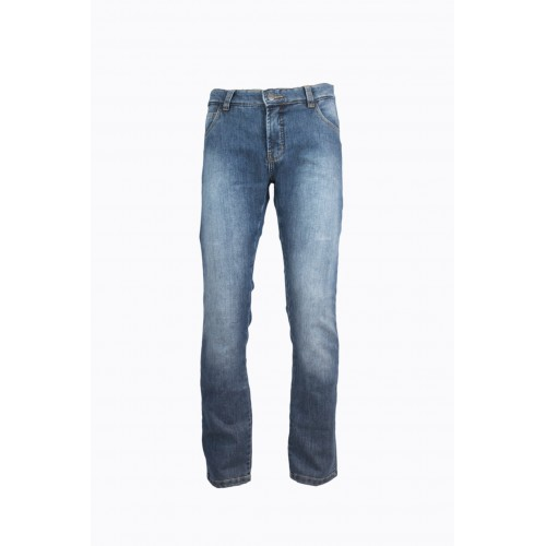 CORSE MOTORCYCLE JEANS – STONE WASHED/AZUL